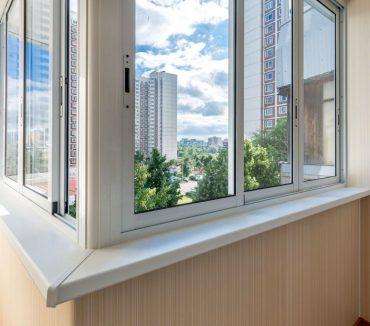Эркерное остекление балкона профилем Provedal